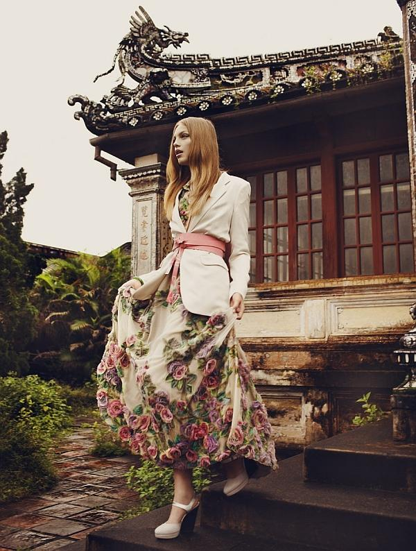 TREND FASHION 2011 - LONG DRESS ORIENTAL