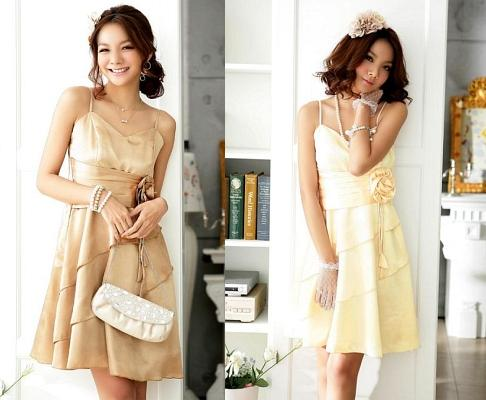 Dress Pesta Korea Style