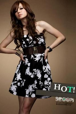 DRESS KOREA GAYA VINTAGE