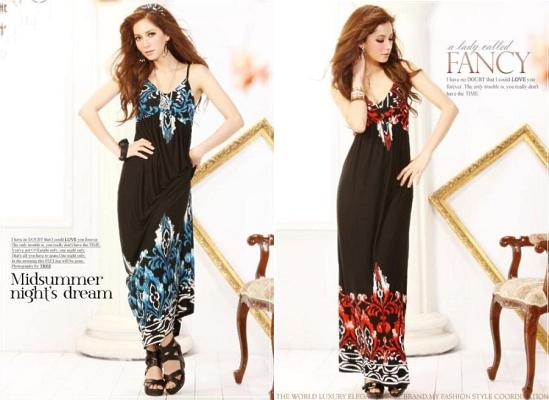 Long Dress Pesta Import Korea Style