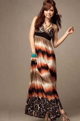 MAXI DRESS KOREA DENGAN BAHAN SILK COTTON