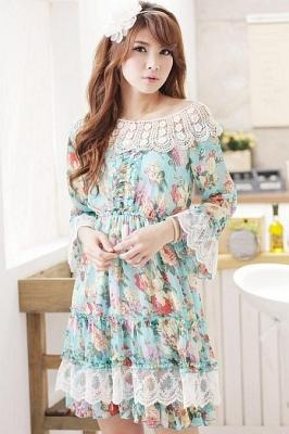 DRESS LACE KOREA - BAJU KOREA