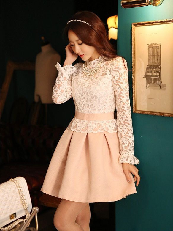DRESS WANITA KOREA STYLE - BUTIK FASHION