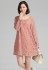 DRESS CANTIK KOREA – PINK BIG SIZE DRESS (JYY872Pink)