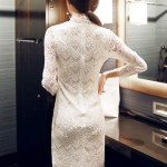 DRESS WANITA KOREA – WHITE LACE DRESS (R65022White)