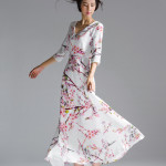 LONG DRESS WANITA – JAPAN LOOK MAXI DRESS (A61033)