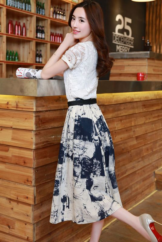 DRESS WANITA KOREA  - BAJU KOREA HIGH QUALITY