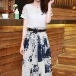 DRESS CANTIK KOREA – 2Pcs Summer Dress (JYB331528)