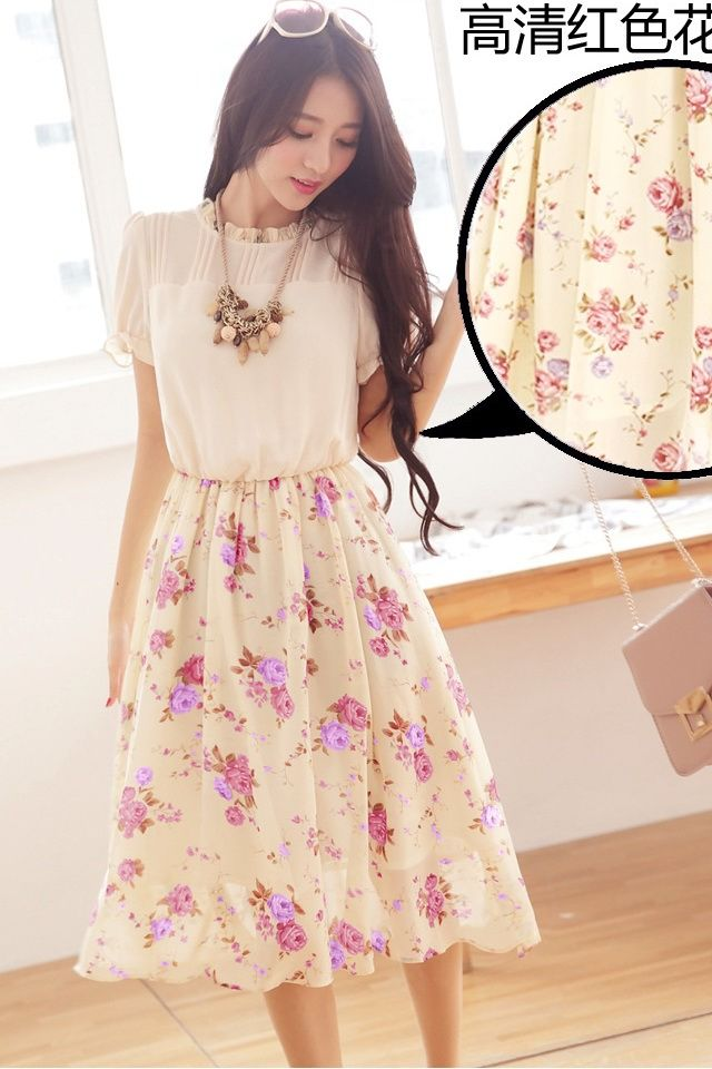 DRESS WANITA KOREA TERBARU - DRESS CANTIK KOREA