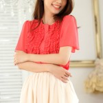 BUSANA KERJA WANITA – Watermelon Korean Blouse (J9844Watermelon)