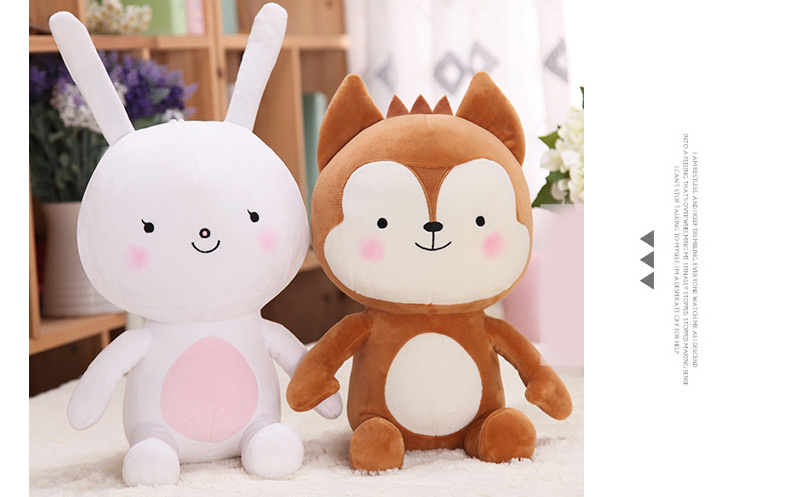 BONEKA HAYANG  (RABBIT) & NEUKKUN (WOLF) DESCENDANTS OF THE SUN DOTS