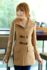 COAT WANITA KOREA – BEIGE WORSTED WOOL COAT (JYW568Beige)