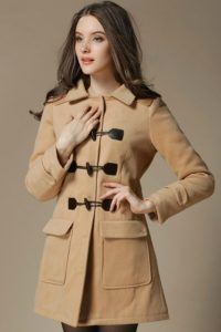 HOODIE LONG COAT KOREA – LightTan Korean Long Coat (JYW1710320)