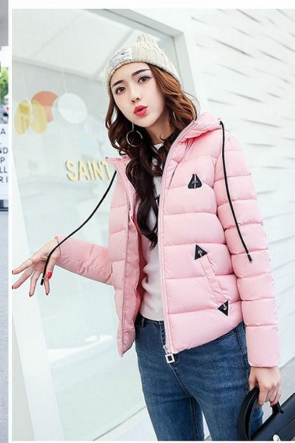 JAKET BULU DOWN COAT IMPORT KOREA STYLE - COAT KOREA BIG SIZE - JYB17612 Red