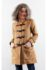 KHAKI DETACHABLE HOODED WOMEN COAT – Winter Long Coat (JYY310717Khaki-Women)