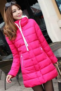 ROSE HOODED DOWN COAT – JAKET BULU KOREA(JYG000BF31 Rose)