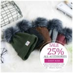 TOPI RAJUT MUSIM DINGIN – 5 COLOR PomPom Fur Knitted Hat(JYG02CBDB)