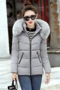 JAKET HOODIE BULU MUSIM DINGIN – LONG COAT IMPORT KOREA STYLE (JYC908Gray)